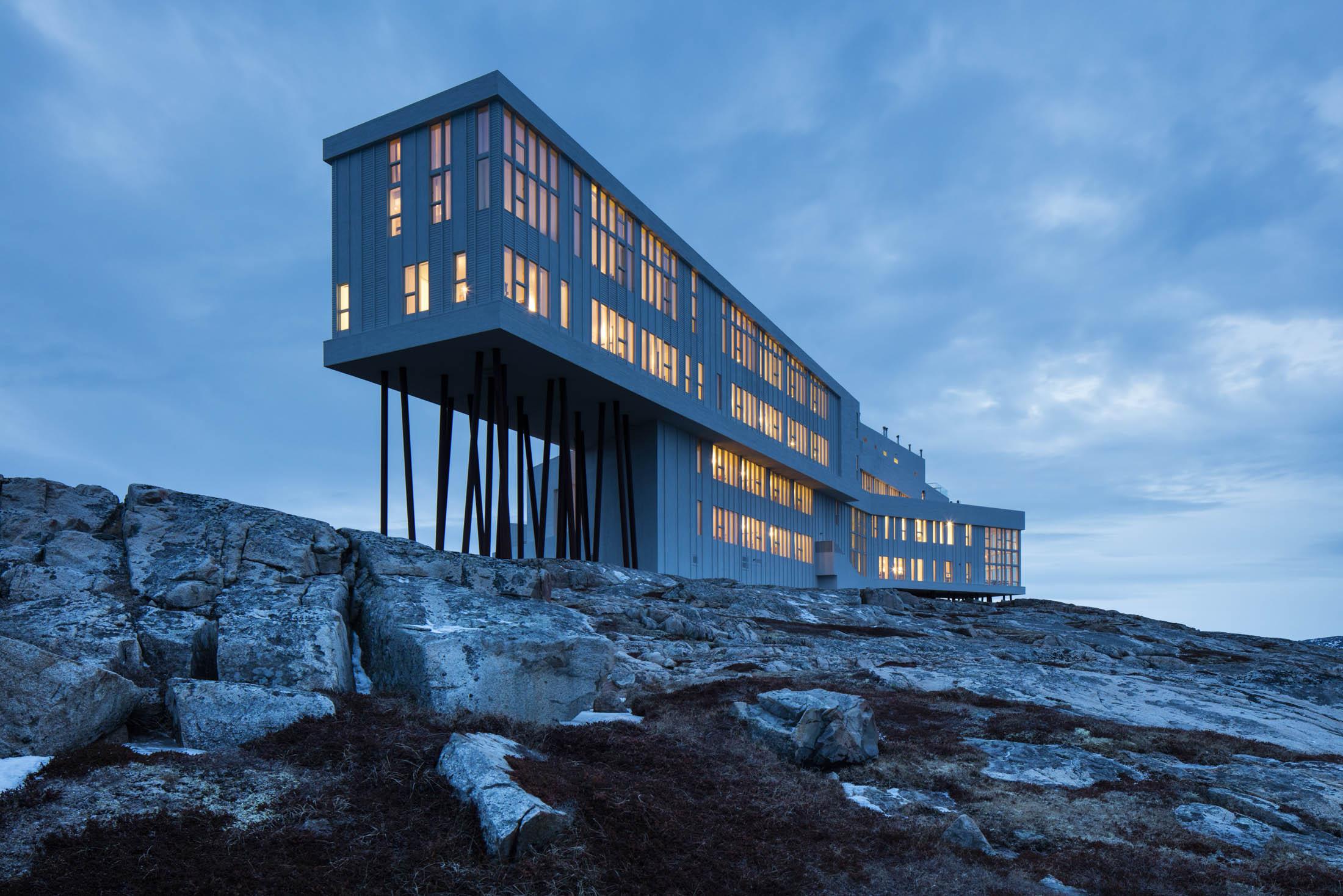 Image result for Fogo Island Inn - NEWFOUNDLAND - CANADA
