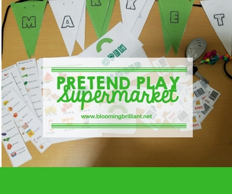 8c215adc9 Pretend Play Shopping Lists - Blooming Brilliant