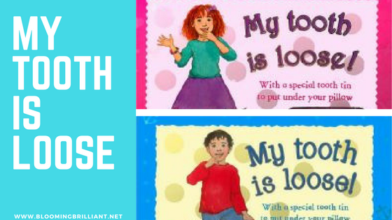 Have a child who is losing their first tooth? Want to help them ease their nerves? My Tooth is Loose! is a perfect book that will calm all nerves and excite them. Check out our full KidLit Book Review.