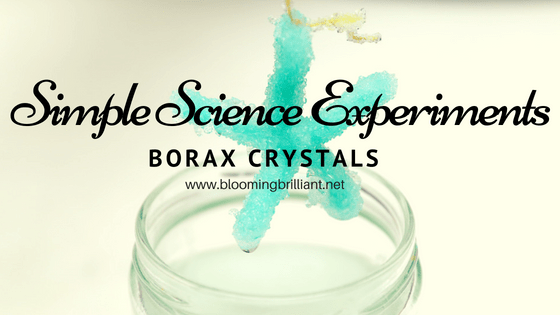 Investigating Suspension with Borax Crystals