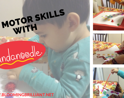Help develop your child's motor skills with these fun and easy activities your child will love with help from Fundanoodle.