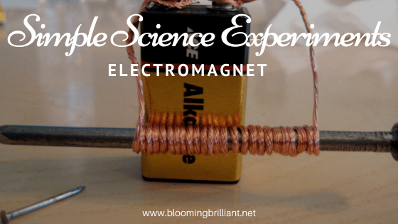 Simple Science Experiments Electromagnet