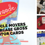 Fundanoodle Muscle Movers Uppercase Gross Motor Cards