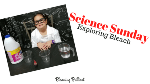 Science Sunday Exploring Bleach