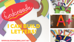 Fundanoodle I Can Build Letters