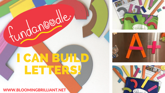 fundanoodle i can build letters blooming brilliant