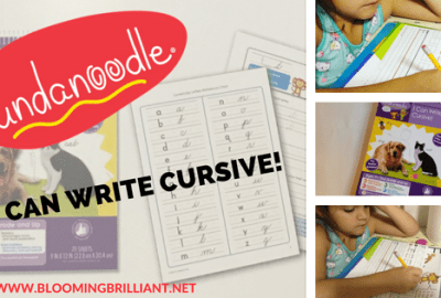 Fundanoodle I Can Write Cursive! is the hands down best cursive handwriting workbook for children.