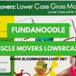 Fundanoodle Friday- Muscle Movers Lowercase Gross Motor Cards