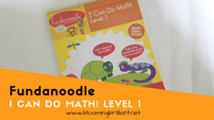 Fundanoodle Friday!- I Can Do Math! Level 1