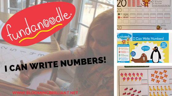 Teaching children proper number formation with High Quality workbook that makes learning fun!