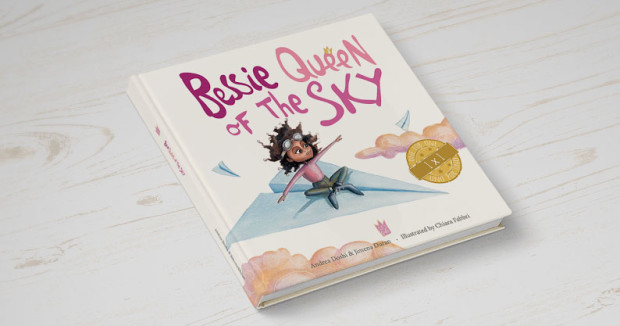 Bessie, Queen of the sky is an inspiring story about Bessie Coleman written like a fairy tale to educate and inspire children.