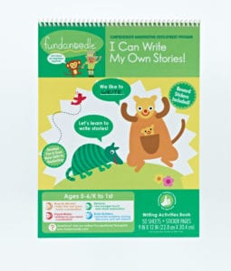 Keeping little learners excited about writing with I Can Write My Own Stories from Fundanoodle!