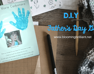 This Father's Day, help your little one create a fun, easy and memorable gift for Dad with this perfect DIY Father's Day Gift.