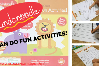 Fundanoodle I Can Do Fun Activities! will excite your toddlers and preschoolers while helping them develop and improve their motor skills.