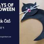 Crafts for Kids- Halloween Black Cat Craft