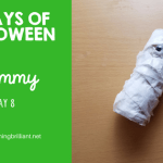 Crafts for Kids-Halloween Mummy Craft