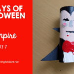 Halloween Vampire Craft