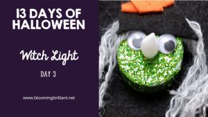 Crafts for Kids- Halloween Witch Light Craft