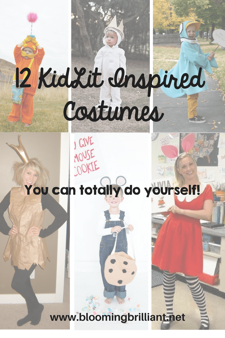 KidLit Inspired Costumes for Kids and Adults!