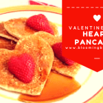 Easy and Delicious Heart Pancakes