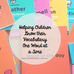 Helping Children Grow their Vocabulary