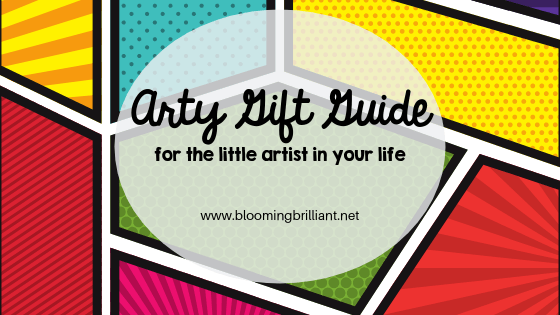 Arty Gift Guide- Gifts for the Little Artists in Your Life