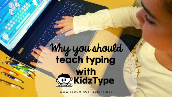 Why you should teach typing with KidzType