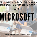 FREE STEM SUMMER CAMP WITH MICROSOFT