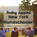 Finding Support as a New York Homeschooler