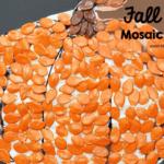 Mosaic Pumpkin Fall Craft