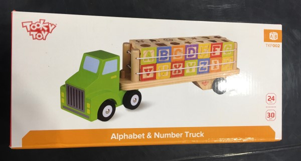 Tooky Toy - Alphabet & Number Truck