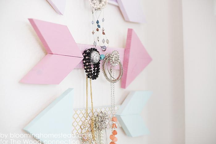 Arrow Jewelry Holders by Blooming Homestead