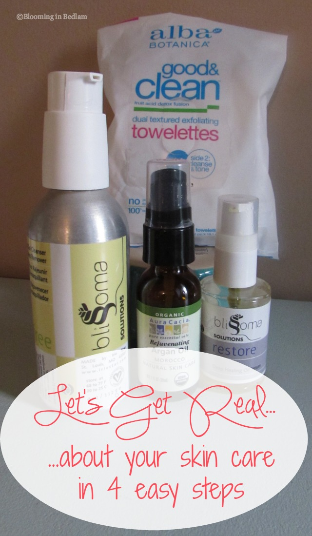 get real skin care easy