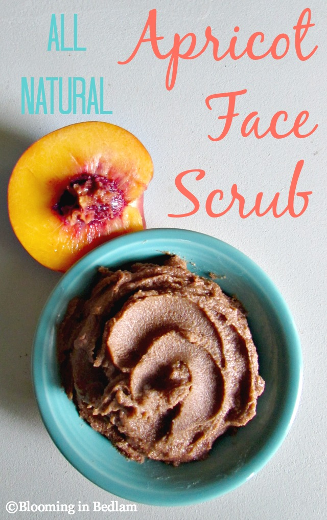 We've all used Apricot Scrub at one point or another, right? But have you seen the ingredient label? Even the sensitive skin version contains harsh sulfates, drying alcohols, and even irritating perfumesand dyes. I wasn't quite ready to give up my flaky skin fix right before the dry winterseason sets in so I made this All Natural Apricot Face Scrub. #apricotscrub #facescrub #greenbeauty #naturalskincare #nontoxicskincare #cleanbeauty #diyskincare
