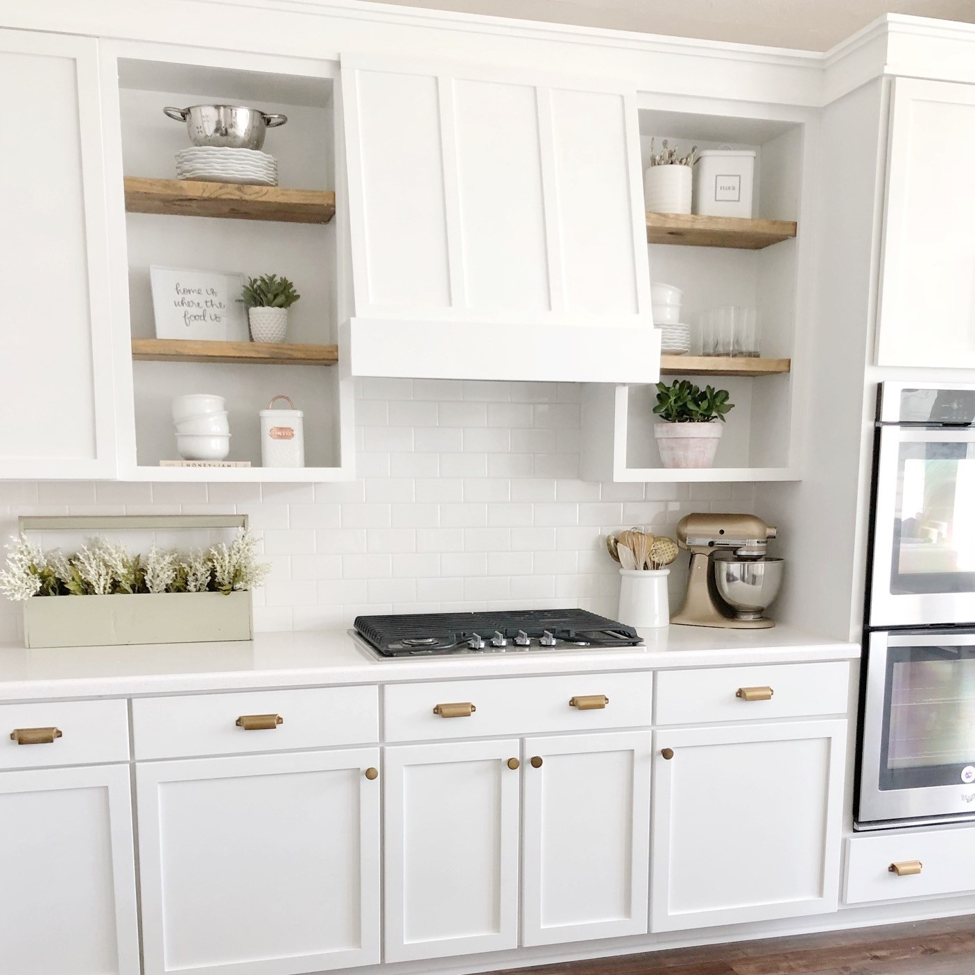 diy kitchen vent hood and cabinet