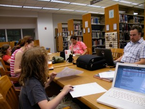 The first Wiki Weekend in Bloomington drew a small but productive crowd.
