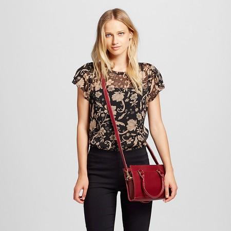 Women's Ruffle Short Sleeve Top - Who What Wear TARGET $22.99