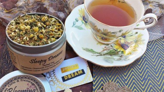 sleepy dream loose chamomile tea