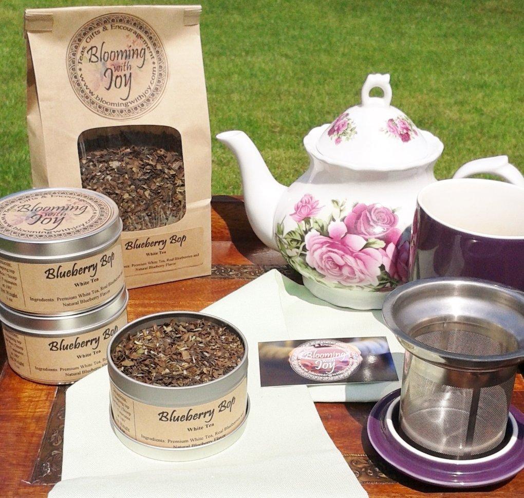 blueberry bop tea