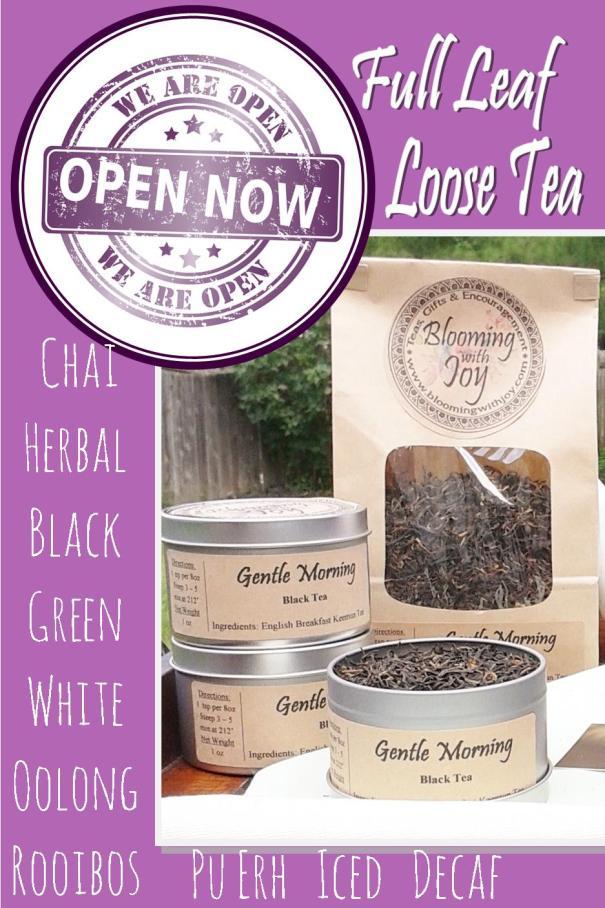 Blooming With Joy Tea Shop