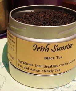 irish sunrise Irish breakfast tea