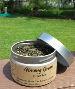 Ginseng Green Tea