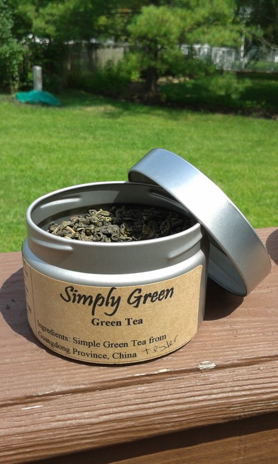 Simply Green Tea
