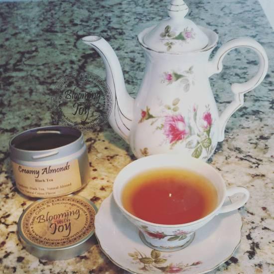 Creamy almond tea