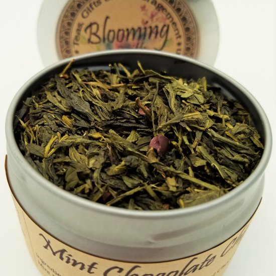 miht chocolate chip tea blooming with joy