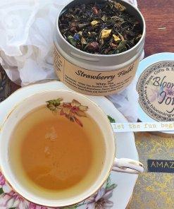 strawberry fields rose tea