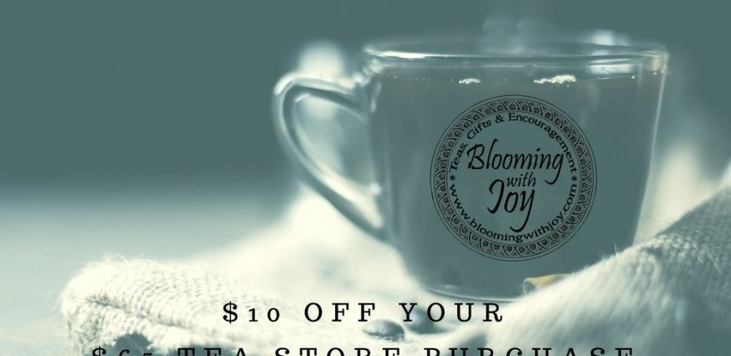 Tea Spectacular: $10 off Right Now!