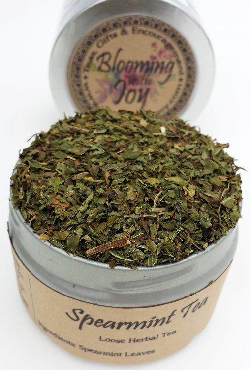 loose spearmint tea