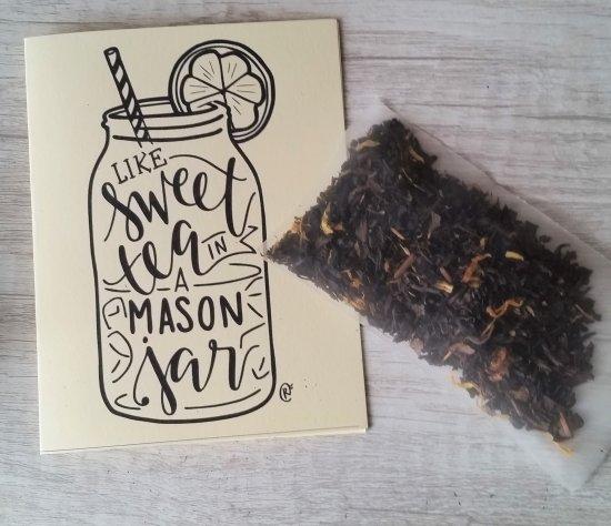 sweet tea mason jar