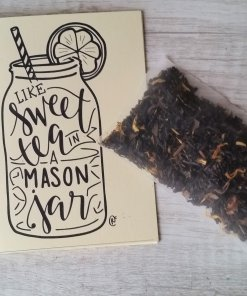 sweet tea mason jar